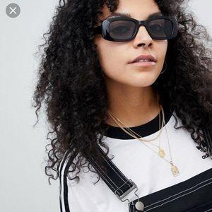 NWT ASOS Square 90s Sunglasses